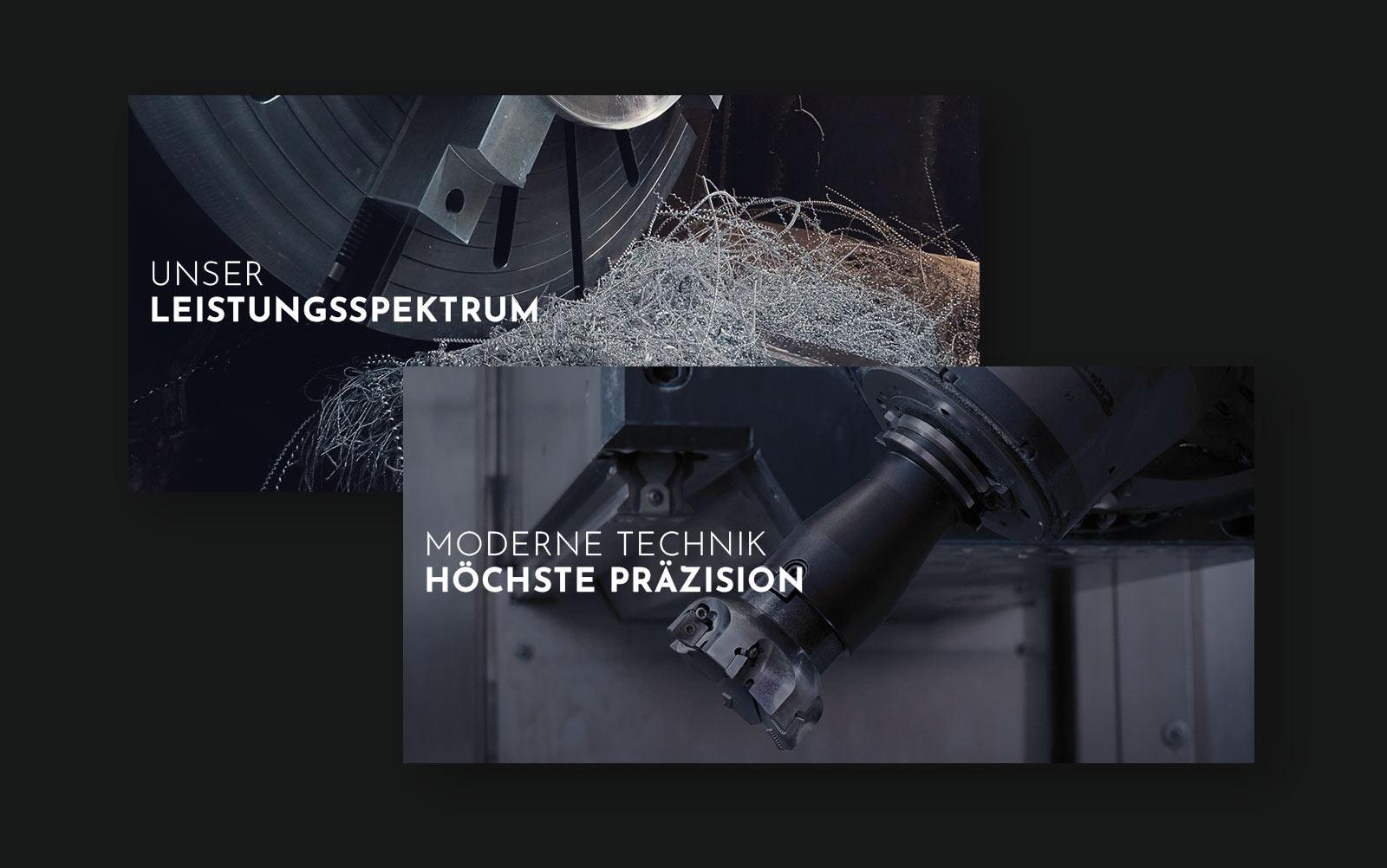 Pernet Design x König Maschinenbau Webdesign und Fotografie