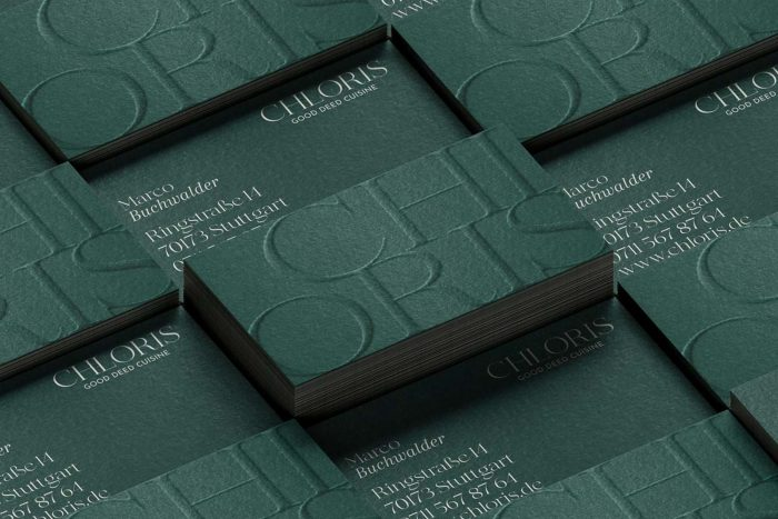 Pernet Design x Chloris Visitenkarten