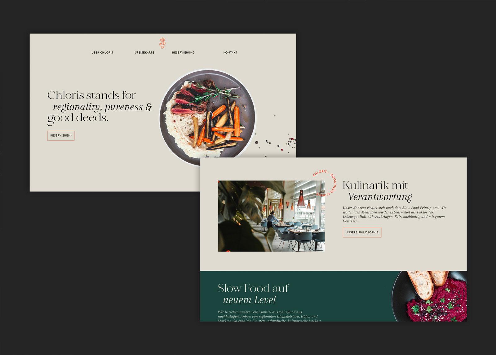 Pernet Design x Chloris Webdesign