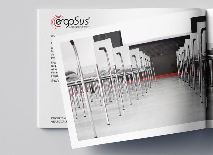Pernet Design x ErgoSus Gmbh Broschüre